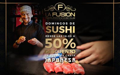 Domingos de Sushi en La Fusión Restaurante