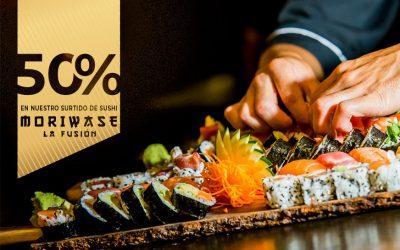 """Vuelven los """"Domingos de Sushi"""" a La Fusión"""