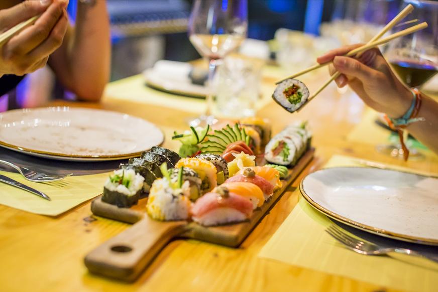 Cómo comer sushi correctamente
